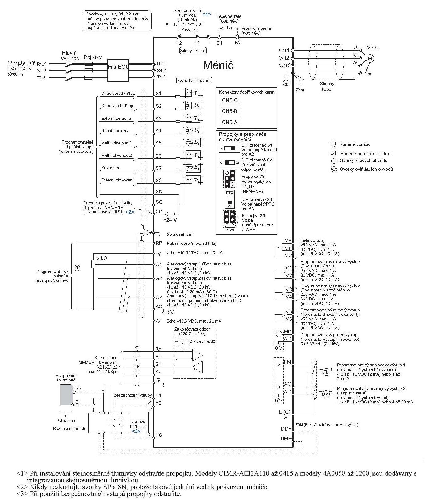 Yaskawa A1000 Wiring Diagram
